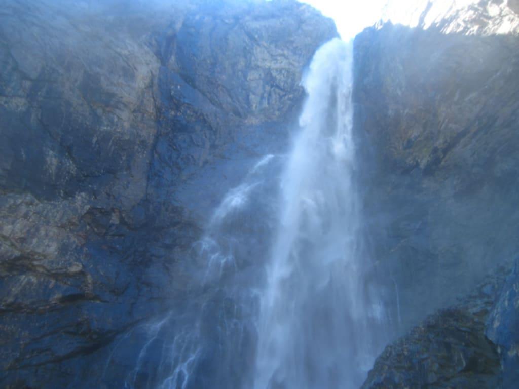 Софруджинский водопад Домбай