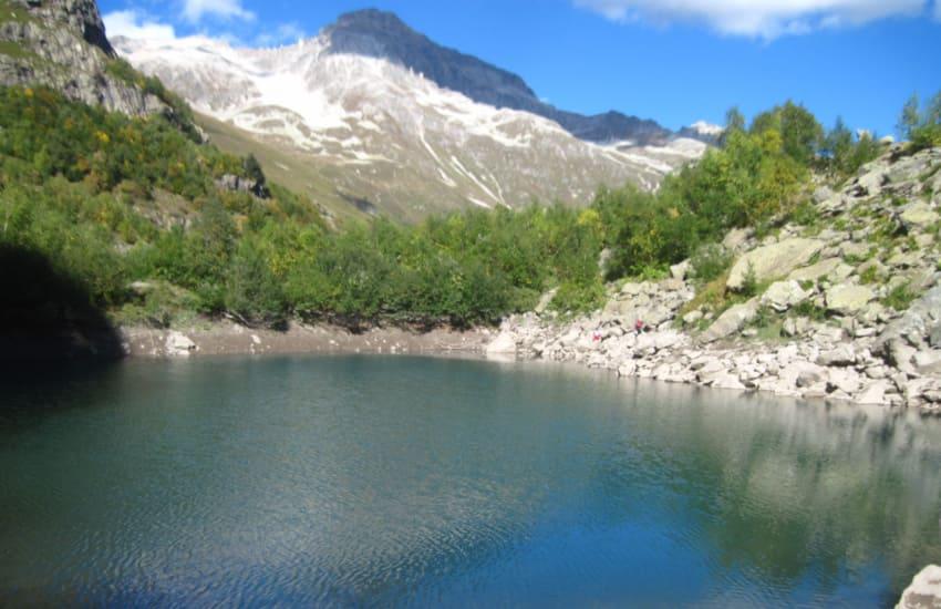 Турье озеро Домбай фото