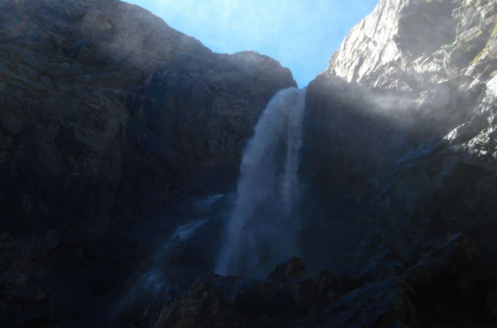 софруджинский водопад высота