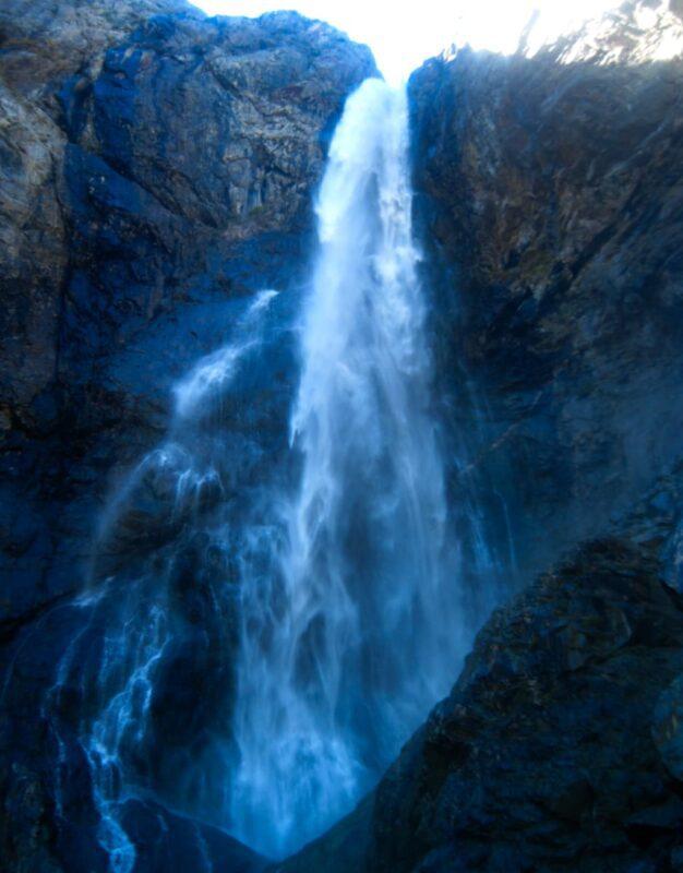 второй софруджинский водопад как добраться из домбая