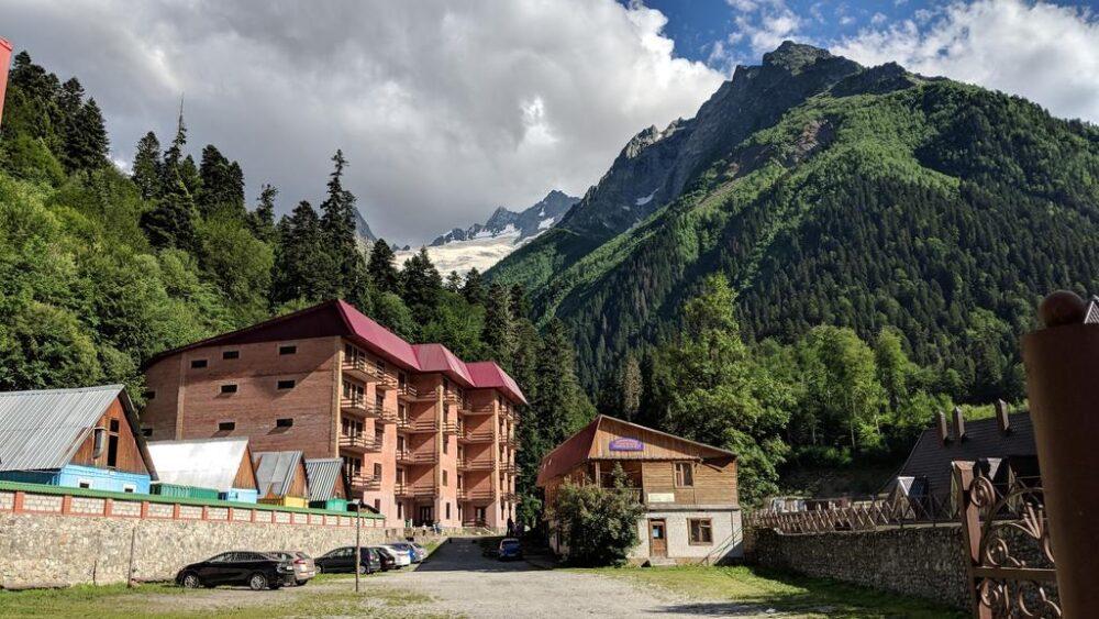 домбай гостиницы базы отдыха цены 2019
