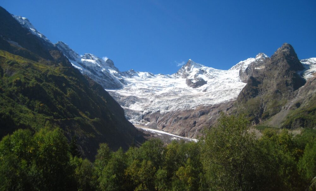 Алибекский ледник фото