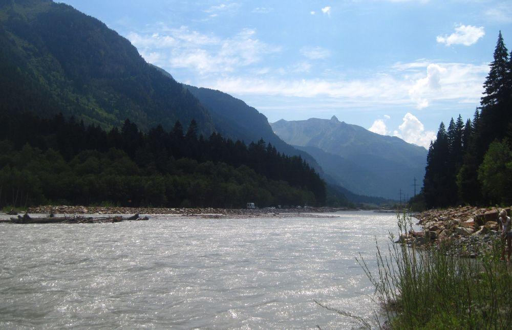 река Теберда фото